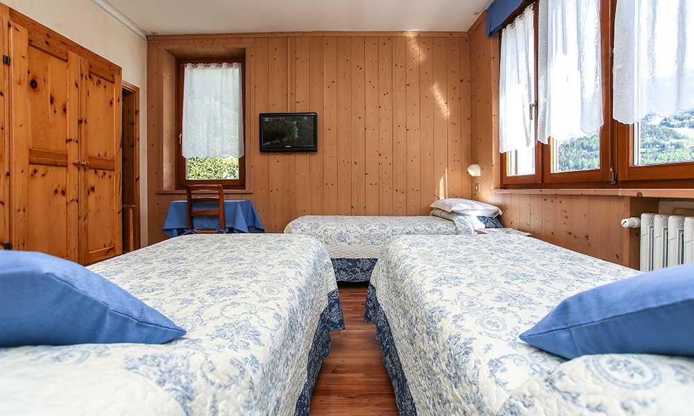 Hotel a Bormio con camere triple - Albergo Adele, Bormio
